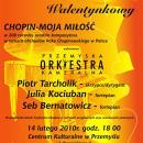 koncert karnawałowy przemyskiej orkiestry kameralnej plakat